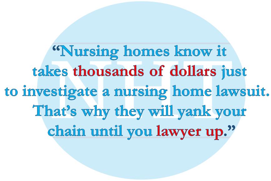 Nursing Home Lawsuit Expenses