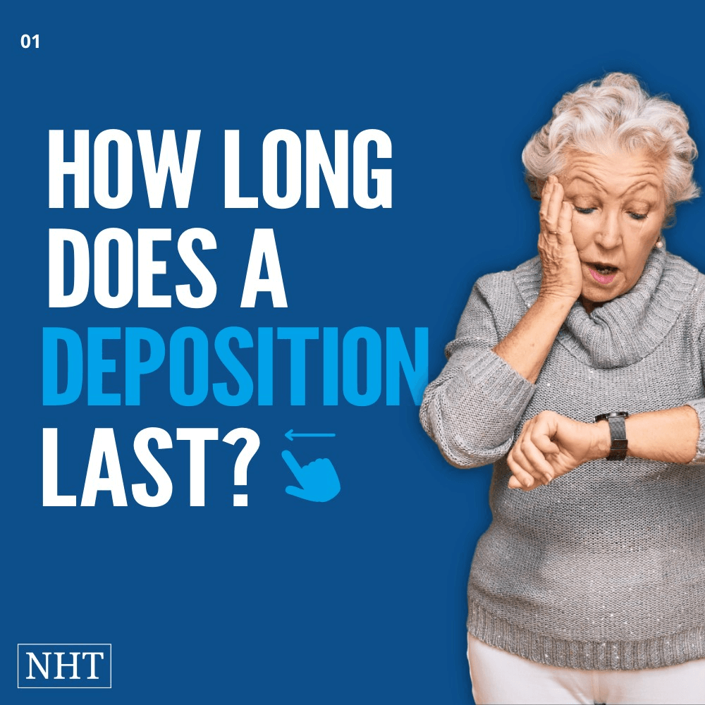 how long do depositions last?
