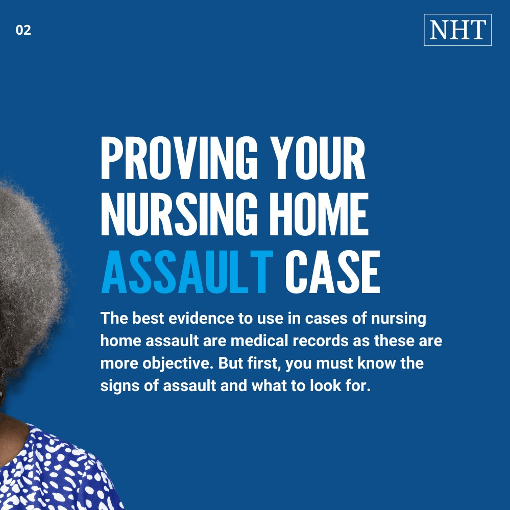 Examples of Assault in Nursing Home