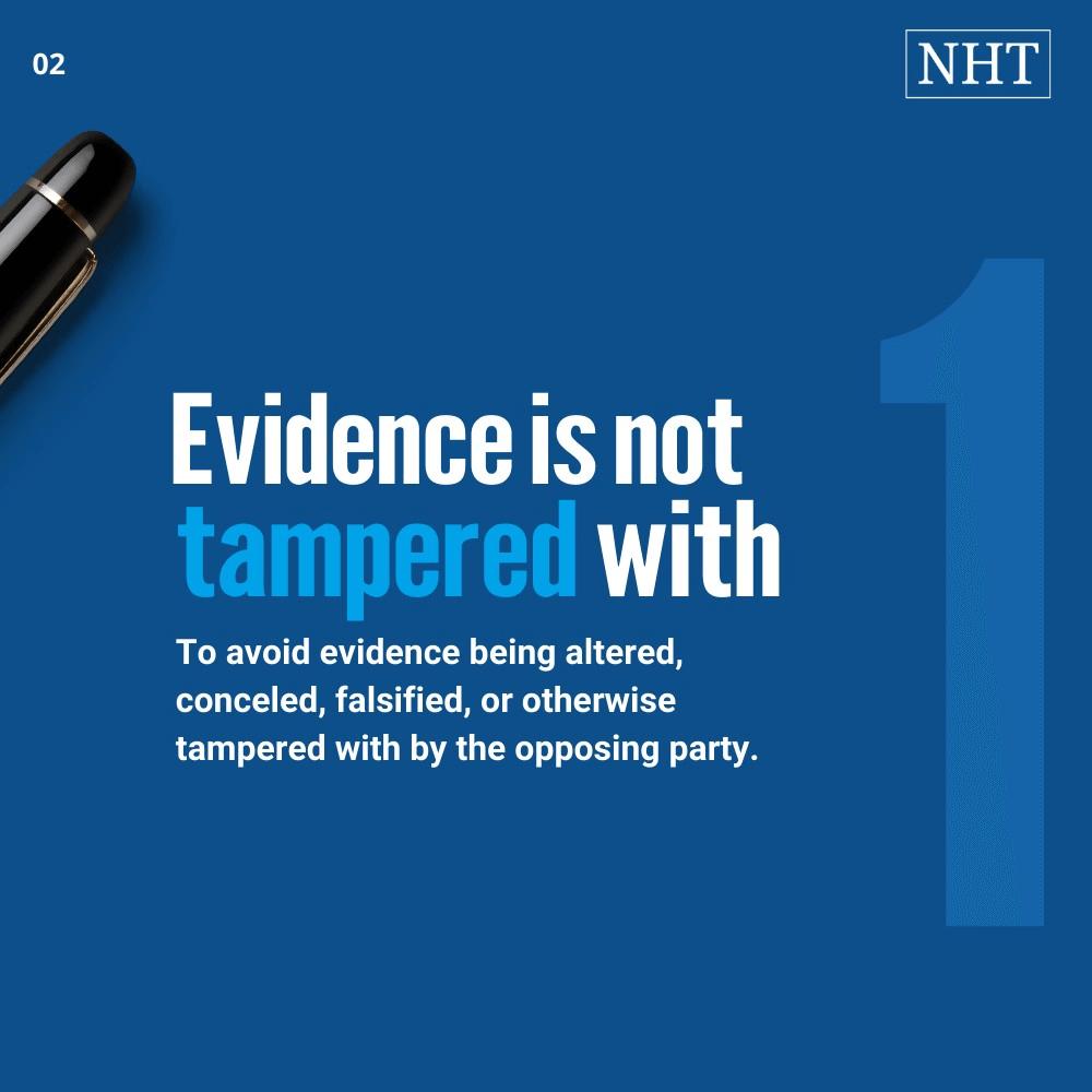 preservation of evidence letter