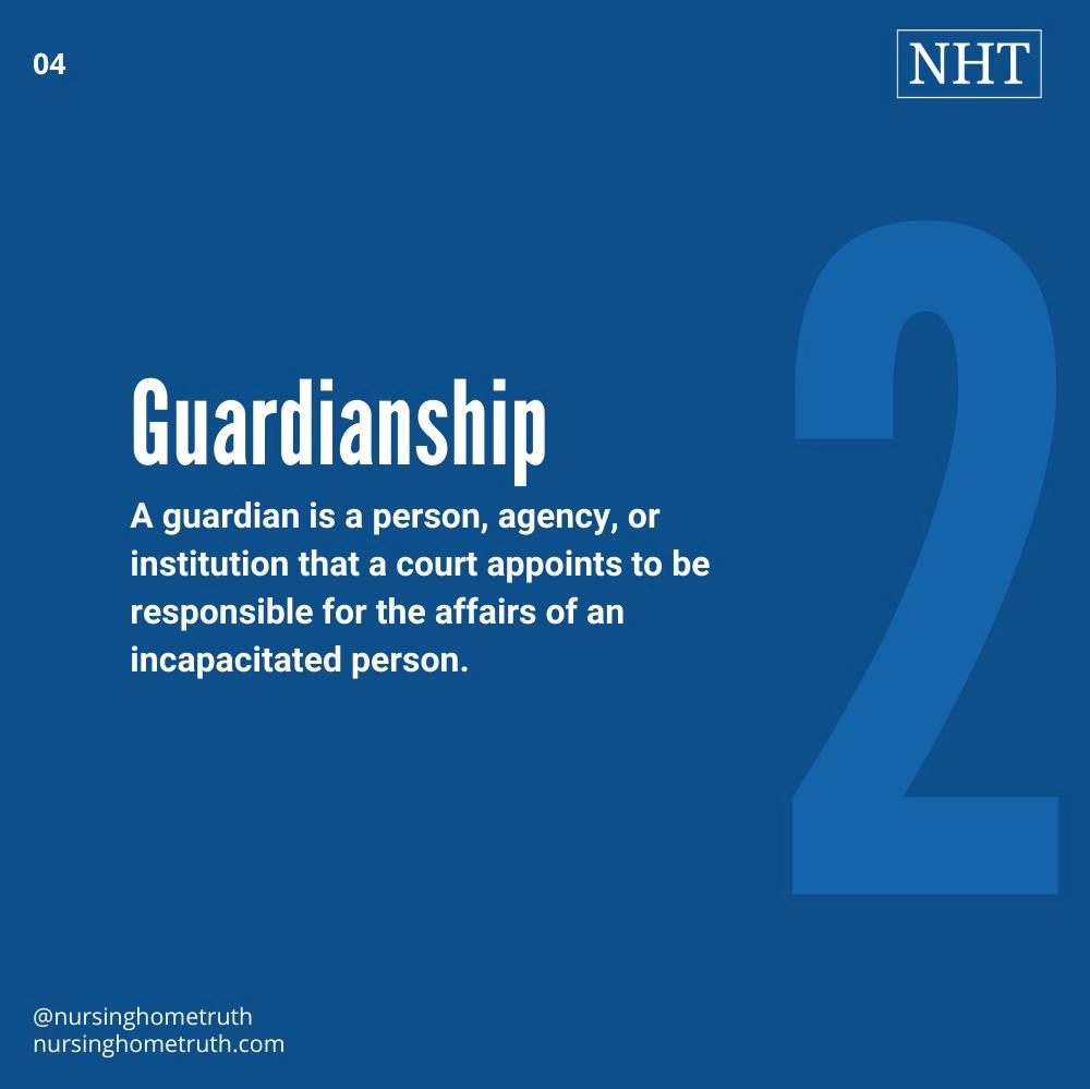Nusing home abuse lawsuit guardianships