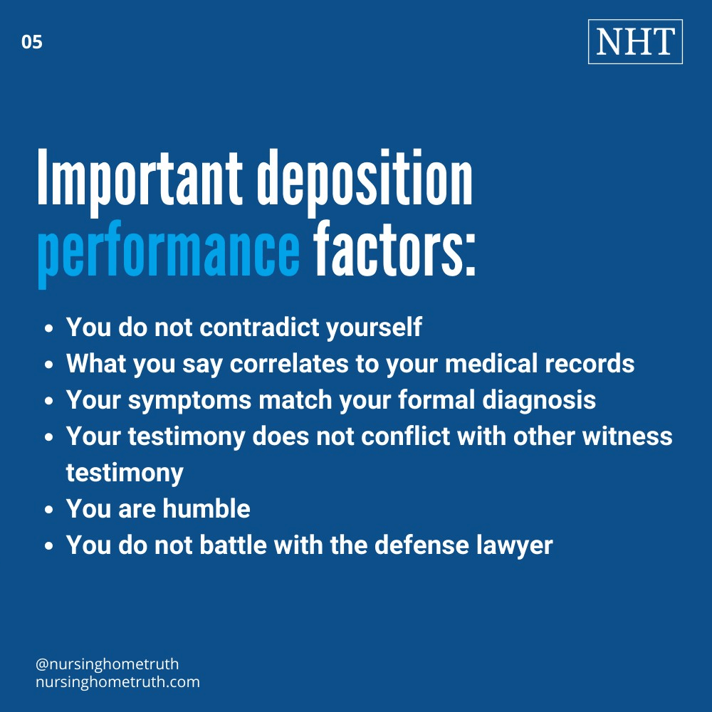 You don't have to waint long after a deposition for settlement if you do these things